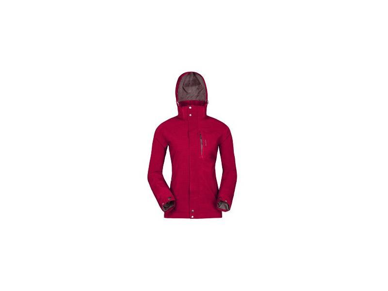 Dámská outdoor bunda Husky Tima - tmavě červená - Velikost L