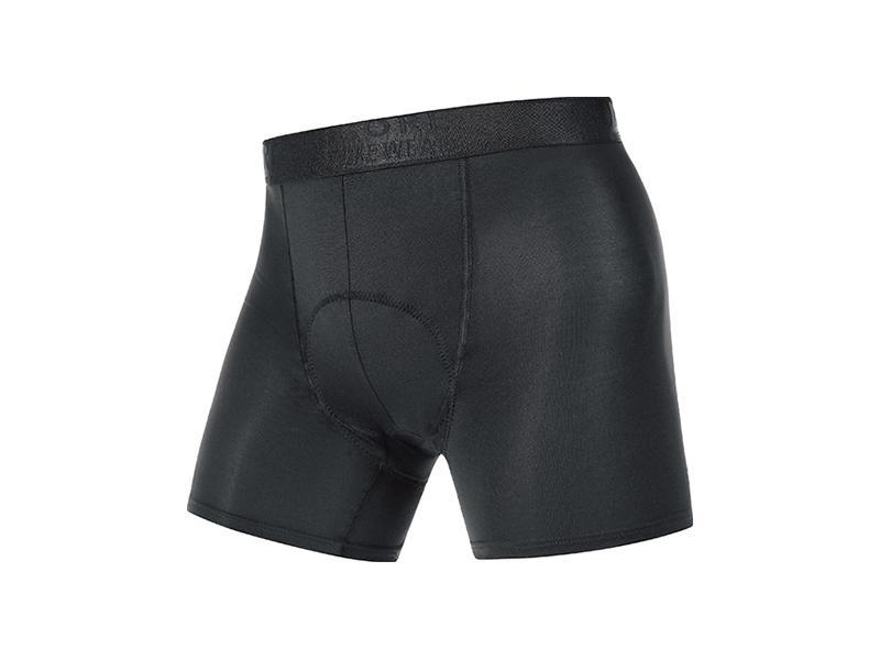 Pánské boxerky GORE Base Layer Boxer Shorts+ Black - velikost XL