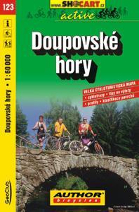 DOUPOVSKÉ HORY cyklomapa 1:60 000