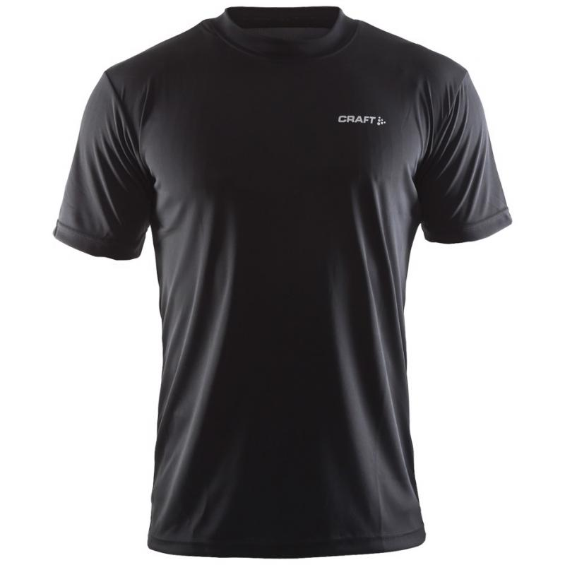 Pánské triko CRAFT ACTIVE RUN - 199205-1999 černé  1c79bb1ba7