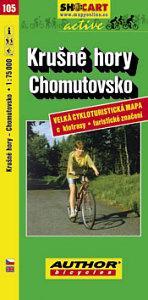 KRUŠNÉ HORY - CHOMUTOVSKO cyklomapa 1:60 000