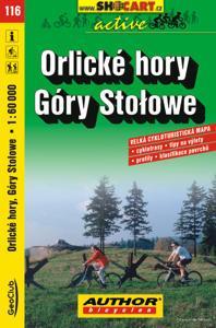 ORLICKÉ HORY - GÓRY STOLOWE cyklomapa 1:60 000