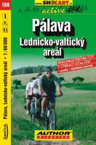 PÁLAVA - LEDNICKO-VALTICKÝ AREÁL cyklomapa 1:60 000