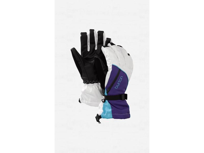 Dámské rukavice BURTON Womens Baker 2-In-1 Glove - Bright White / Moonraker / Avatar 275614-132 - Velikost XS