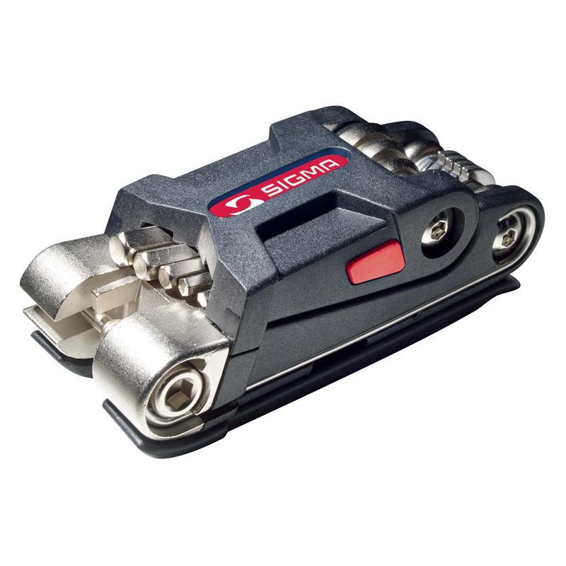 Multiklíč Sigma PT 16 - šedo-červená