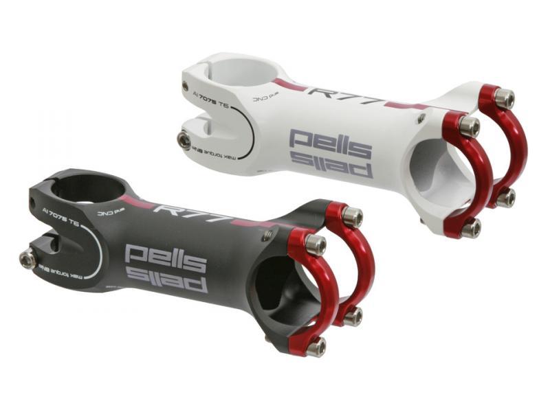 Silniční představec Pells R77 Ultralite černý - Délka představce 100 mm