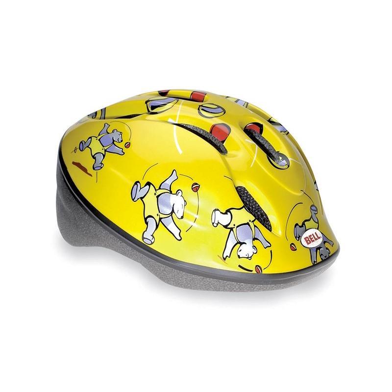 Přilba BELL Zoom Yellow Bears - velikost XS/S (488211;52 cm)