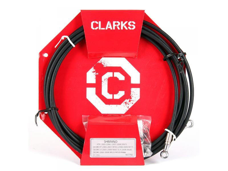 Hadička brzdová hydraulická Clarks - Shimano černá