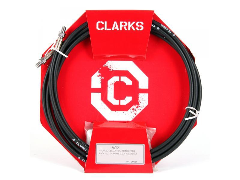 Hadička brzdová hydraulická Clarks - Avid černá