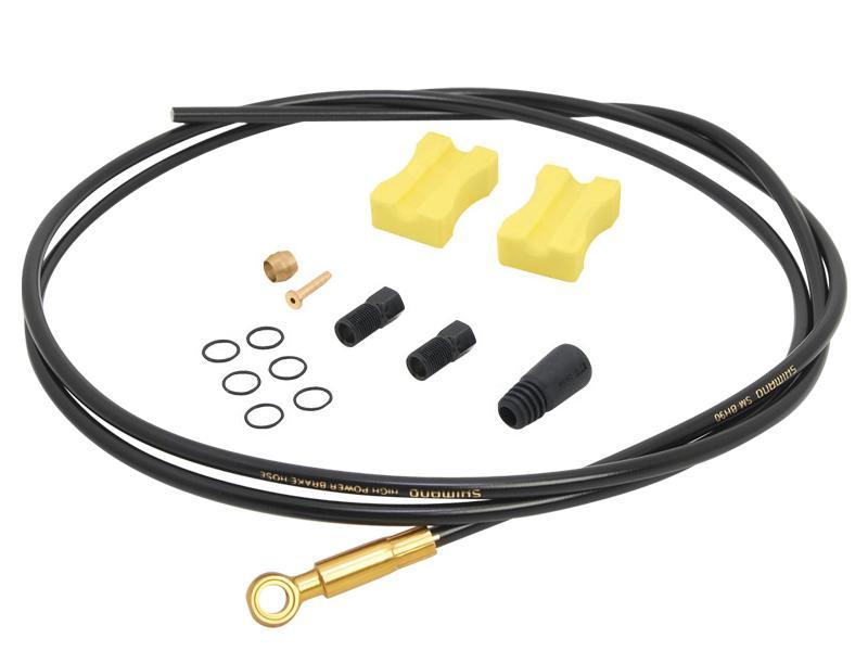 Brzdová hadička SAINT SM-BH90 - Délka 1700 mm, barva černá