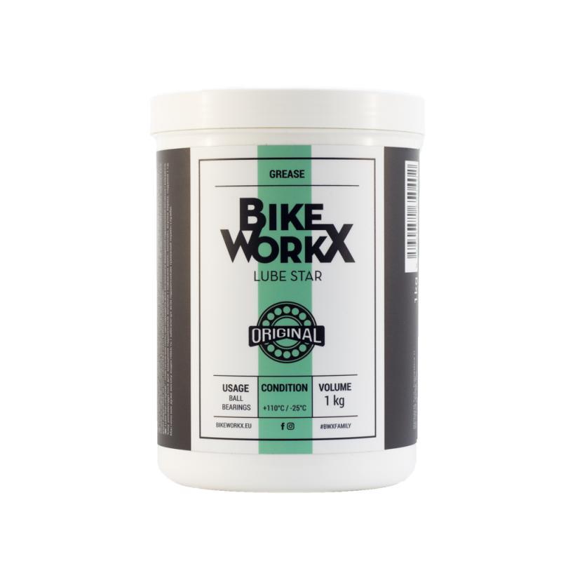 Vazelína BikeWorkX Lube Star Original - dóza 1000 g