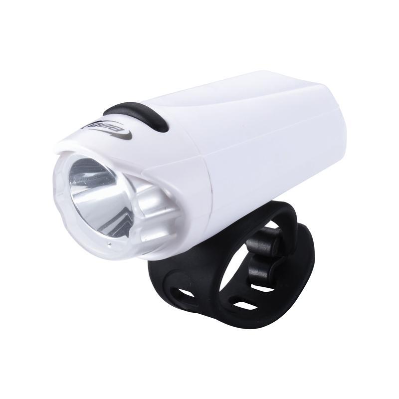 Přední světlo BBB BLS-75, bílá + černý pásek