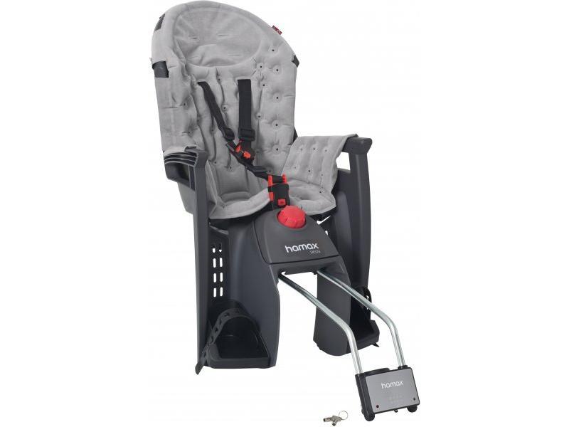 Dětská cyklosedačka HAMAX Siesta Premium grey/light grey