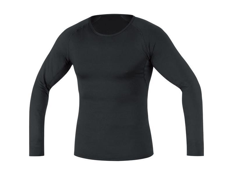 Triko GORE Base Layer Thermo Shirt Long Black - velikost L