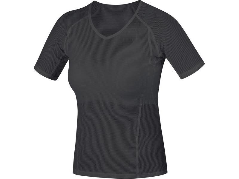 Triko GORE Base Layer Lady Shirt Black - velikost L (40)