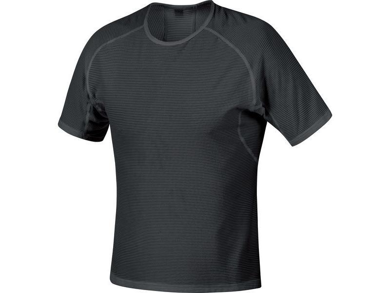 Triko GORE Base Layer Shirt Black - velikost XXL