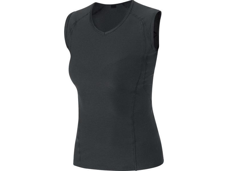 Triko GORE Base Layer Lady Singlet Black - velikost L (40)