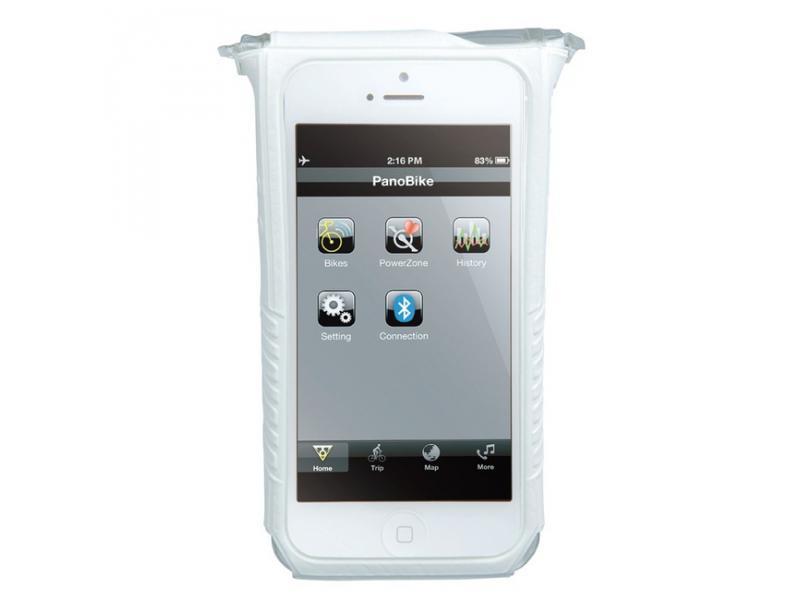 Obal na telefon TOPEAK SmartPhone Dry Bag pro iPhone 5 bílá TT9834W