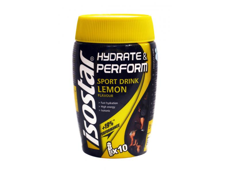 Nápoj Isostar Hydrateamp; Perform 400g - citron
