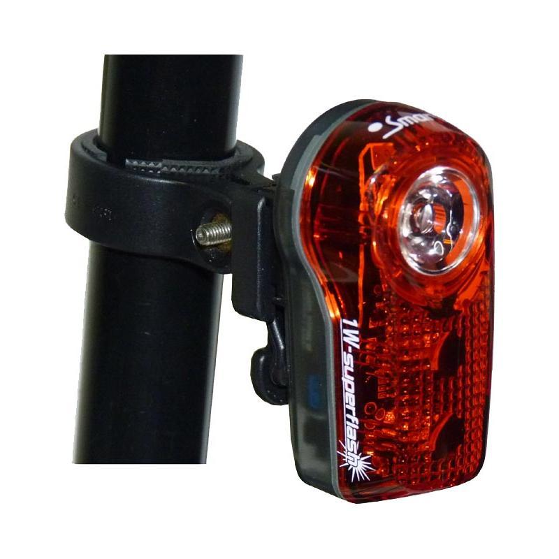 Ultra svítivé zadní blikací světlo SMART RL-317R 1W - černá