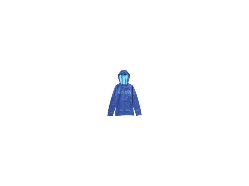 Dívčí funkční mikina BURTON SCOOP FLEECE 108791 415 DEJA BLUE - Velikost XS 5-6