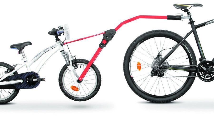 Peruzzo TrailAngel - červená, tažná tyč dětského kola