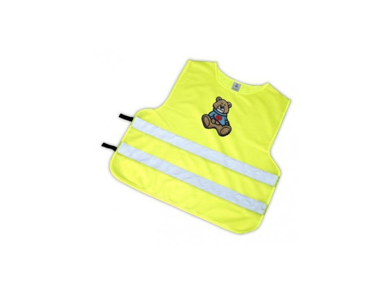 Reflexní vesta - dětská medvídek, velikost S