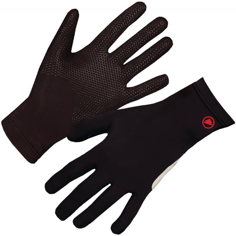 Rukavice Endura Gripper Fleece - celoprstové, Black - E0088BK - Velikost L-XL