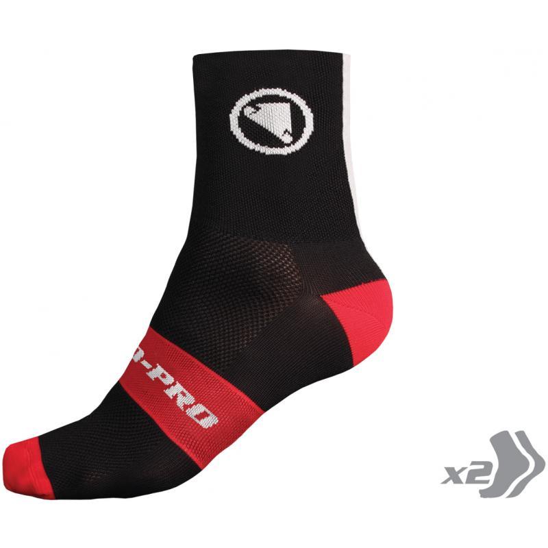 Ponožky Endura FS260-Pro- Black - E0115BK - Velikost S-M