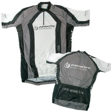 Dres APACHE silniční, šedo-bílo-černý 2008 - velikost L