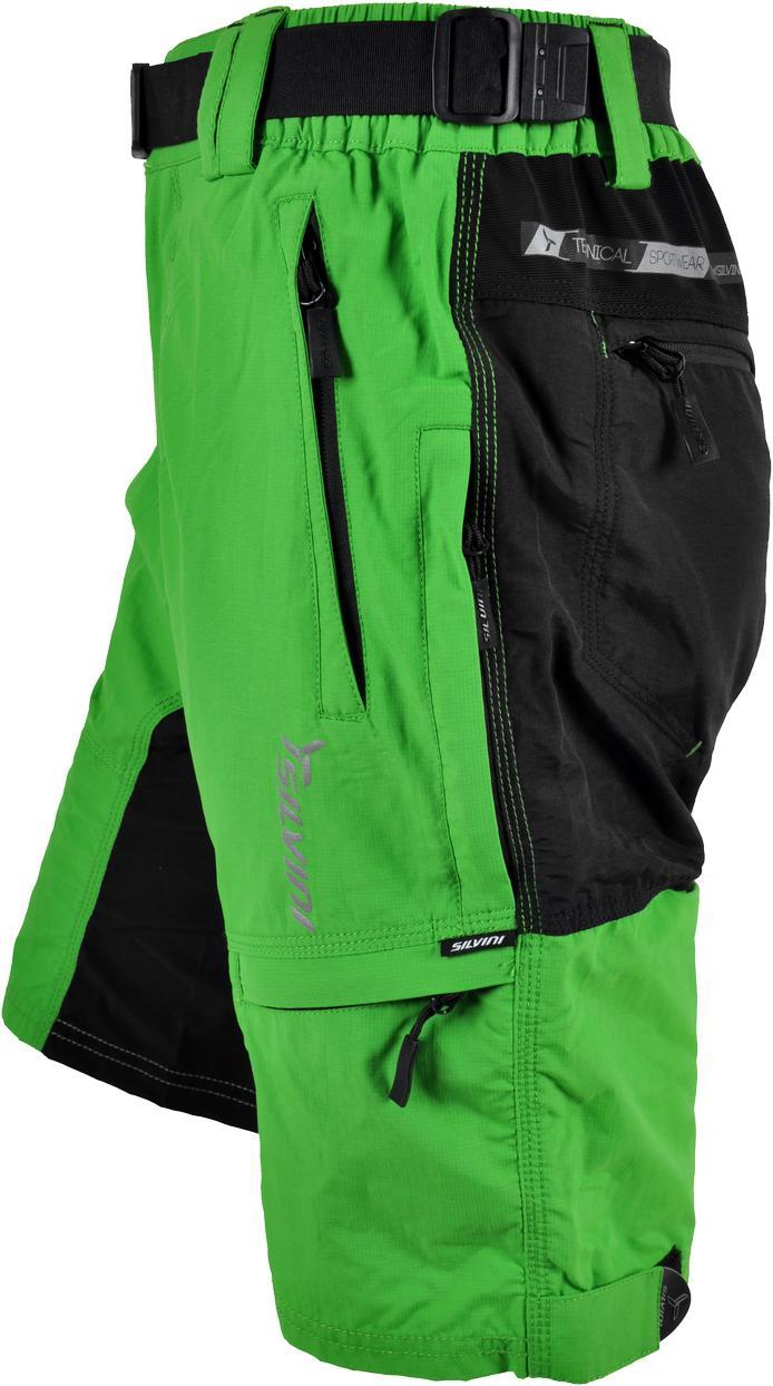 13437cf51a7 SILVINI pánské MTB cyklistické kalhoty RANGO MP373 green