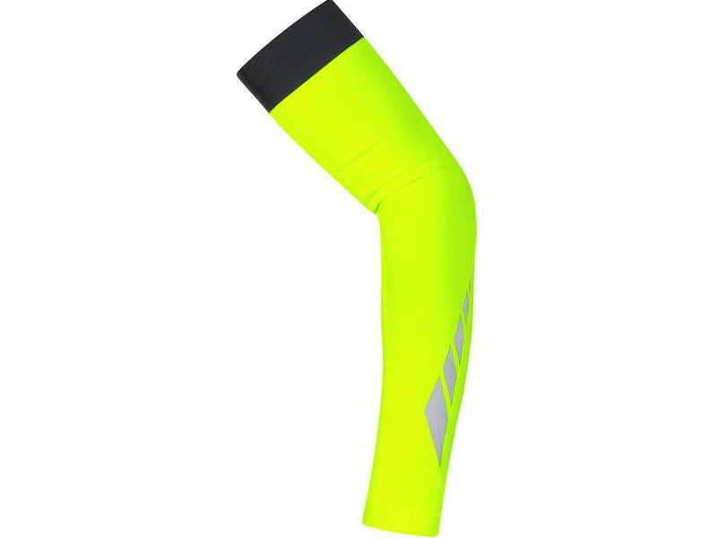 Návleky na ruce Gore Visibility Thermo - Neon Yellow - velikost L