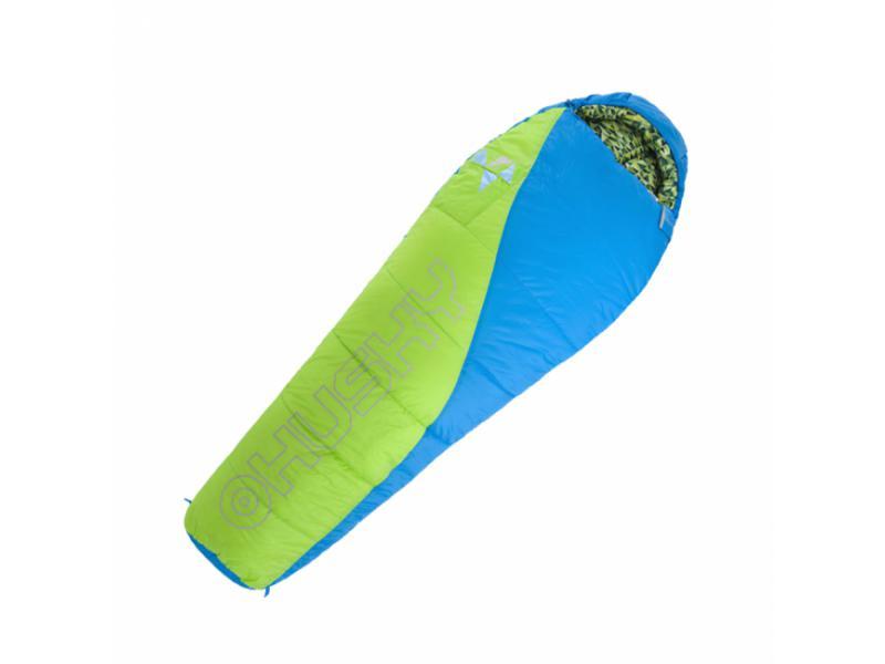 Spacák Outdoor Husky Kids Merlot New-10°C - zelená/modrá
