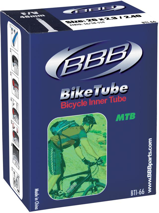Duše MTB BBB BTI-68 BikeTube 27.5x2.10 2.35 FV 48mm  1fce452c01