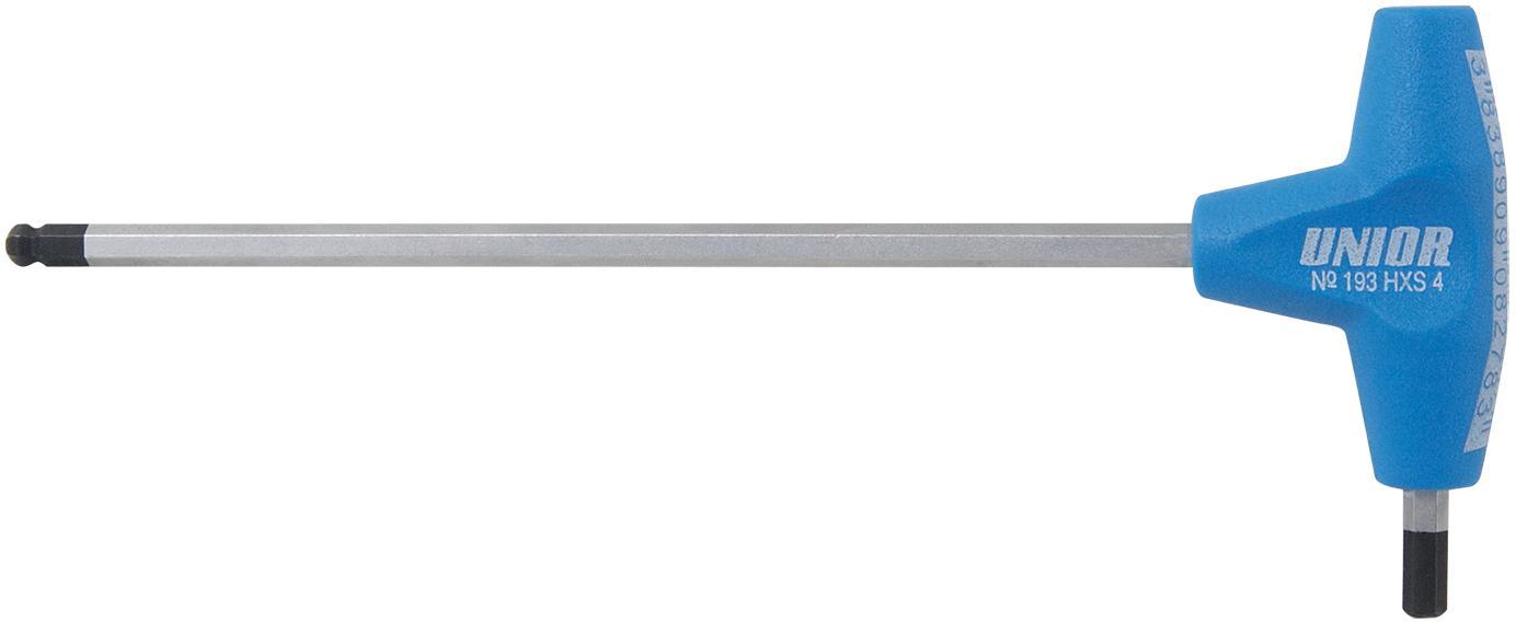 Imbus klíč UNIOR T rukojeť a kulička 6mm 608280
