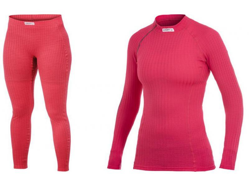 Balíček oblečení Craft EXTREME - dámské, růžová