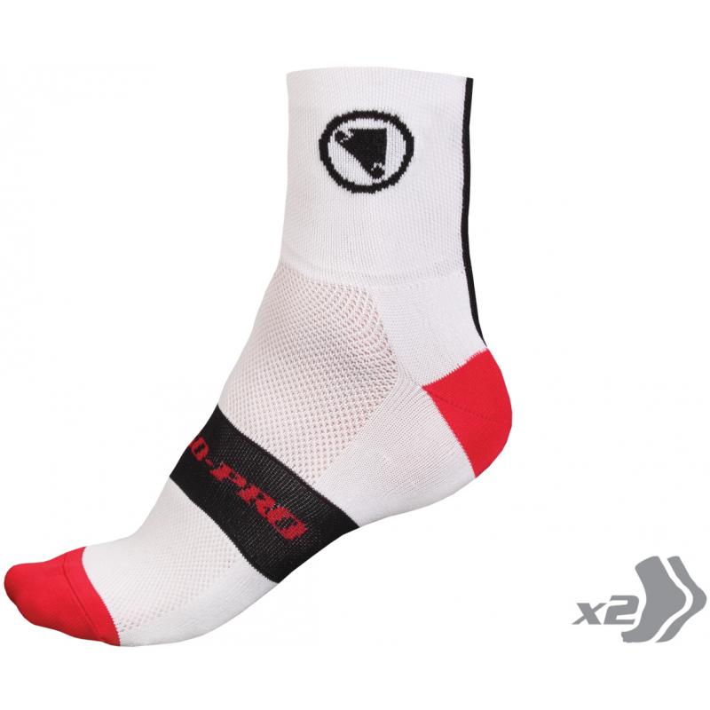 Ponožky Endura FS260-Pro - E0115WH - velikost S/M