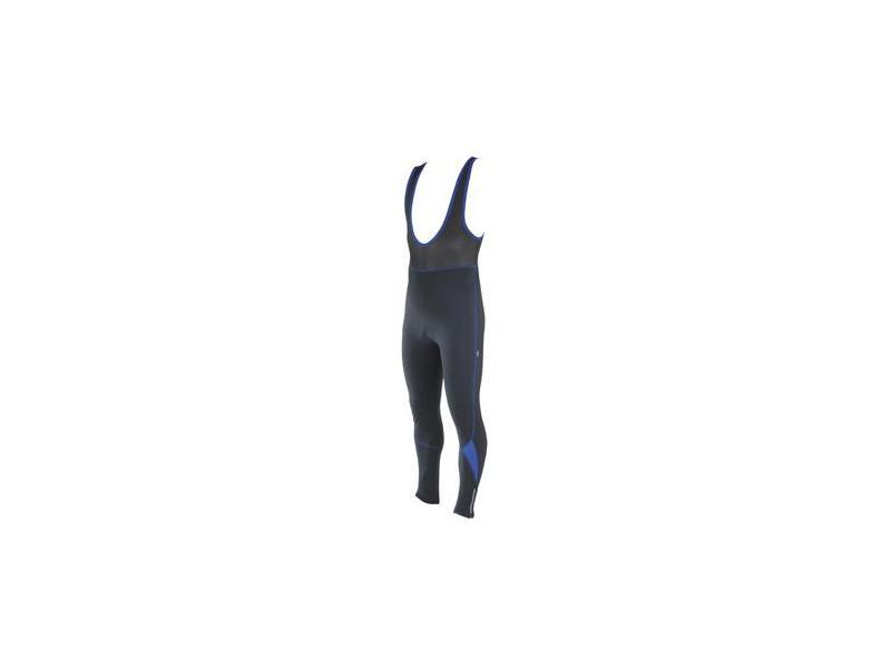 Pánské zimní kalhoty Etape RUNNER s laclem - černé - velikost 2XL