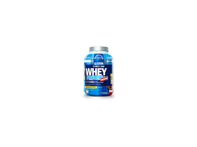 USN Whey Protein Premium 2280g - jahoda WP2