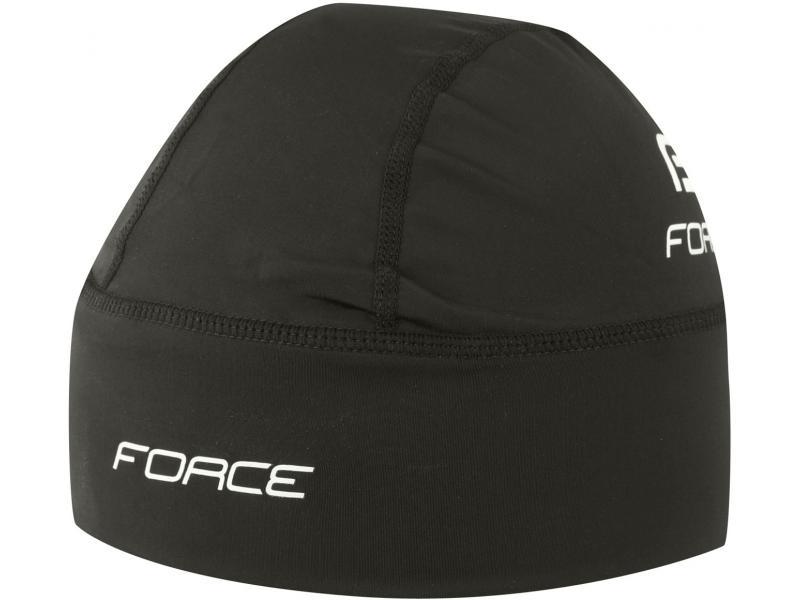 Čepice pod přilbu FORCE zateplená lycra 90311 - velikost S-M