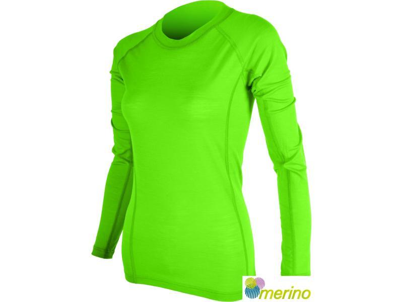 Funkční triko Silvini Lana WT566 - dámské, dl.rukáv, green - Velikost S
