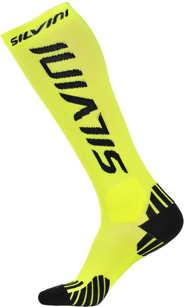 Kompresní podkolenky Silvini Casalone UA562 - neon-black  0ce9366f4c