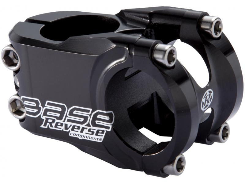 Fotografie Představec Reverse Base 40/31,8mm Glossy Black 01501