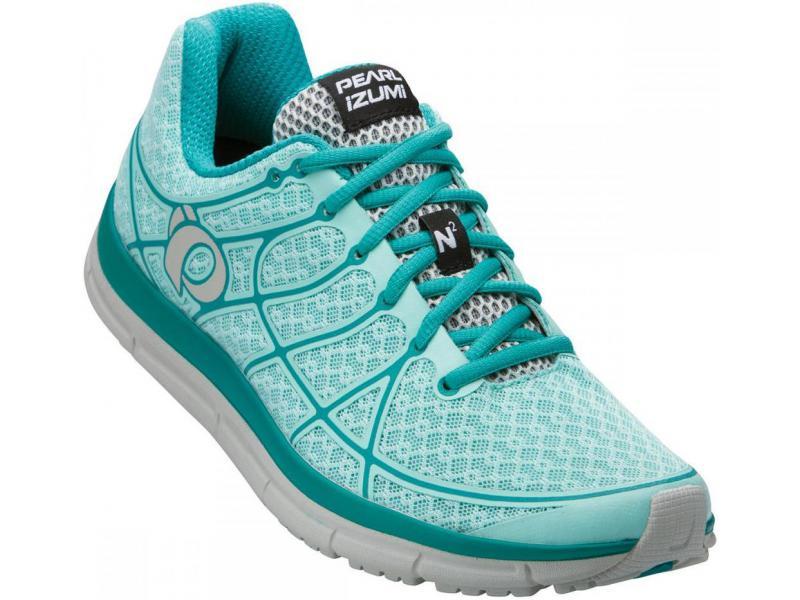 Dámská běžecká obuv PEARL iZUMi W EM ROAD N 2 Aruba modrá   Peacock zelená 2454426e27