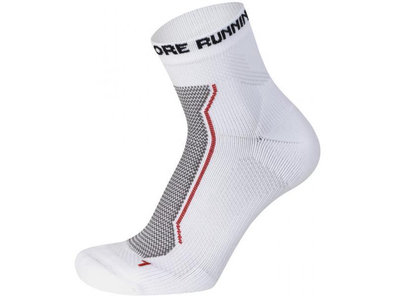 Ponožky GORE Magnitude Socks-white - velikost 35/37