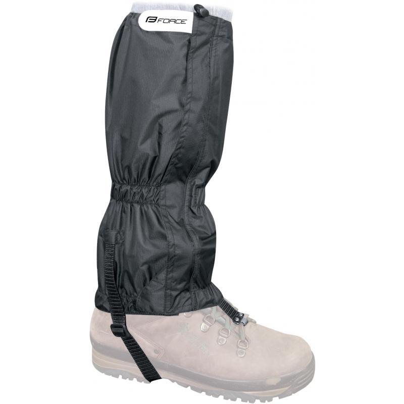 Návleky FORCE SKI RIPSTOP na boty černé 90621  70c265ef4d