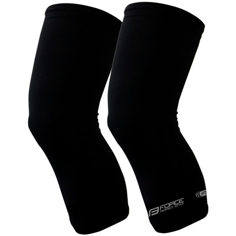 Fotografie Návleky na kolena Force Term - černé, unisex - 90021 - velikost S