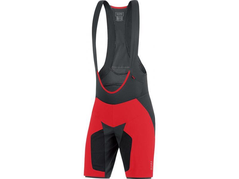 Kraťasy Gore Alp-X PRO 2in1 Plus - pánské, lacl, Red - velikost L