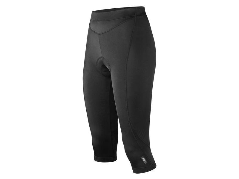 3/4 kalhoty Etape Natty - dámské, elastické, s vložkou, černá - 1402610 - velikost M