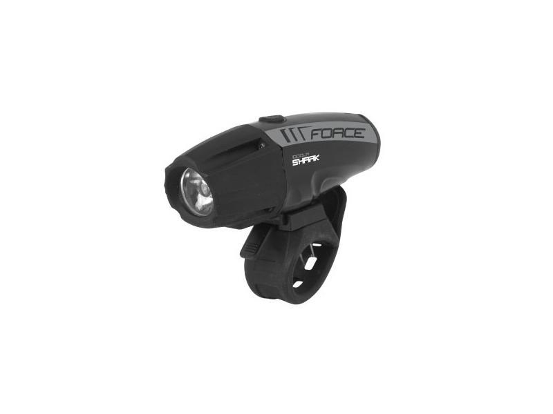 Světlo přední FORCE SHARK-1000 USB černé 45210